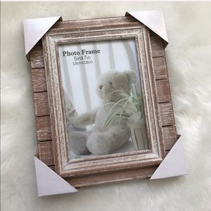 Wooden Pink Picture Frame